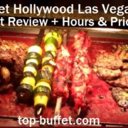 Planet Hollywood Buffet Review